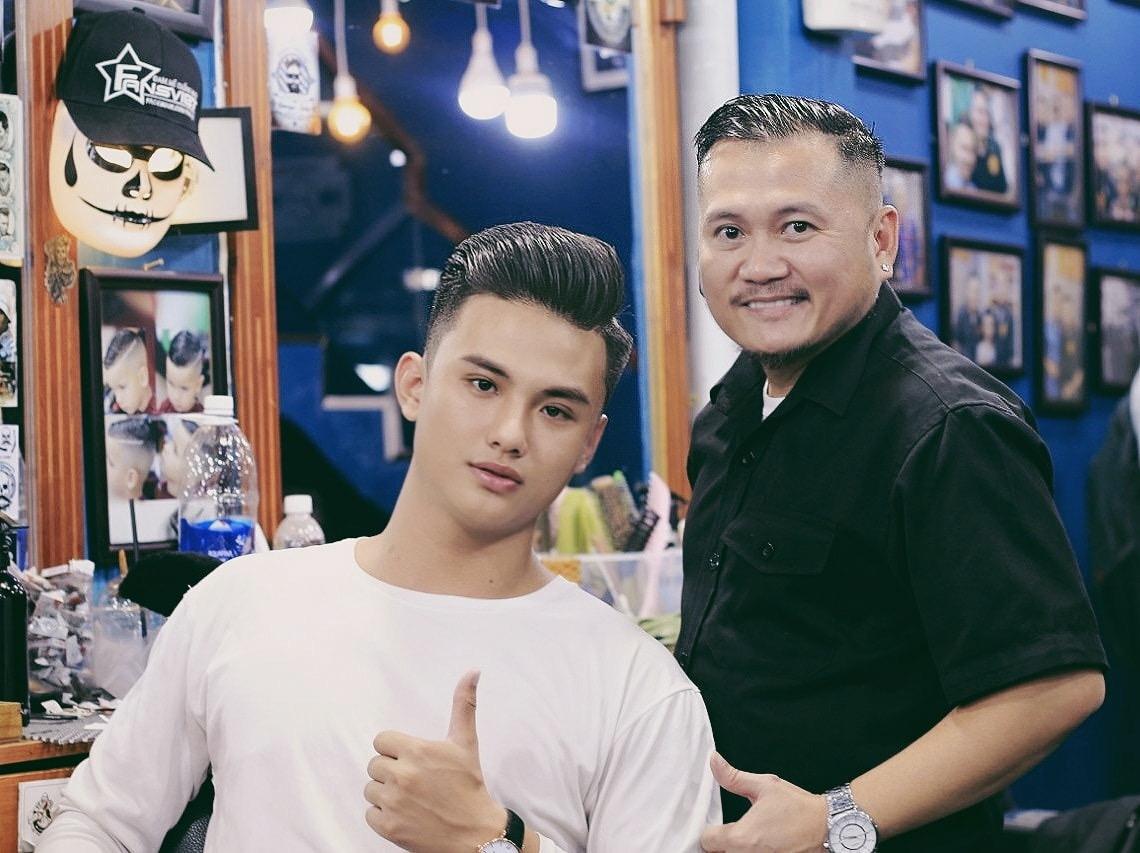 Tiệm Barber Shop Vũ Trí 4
