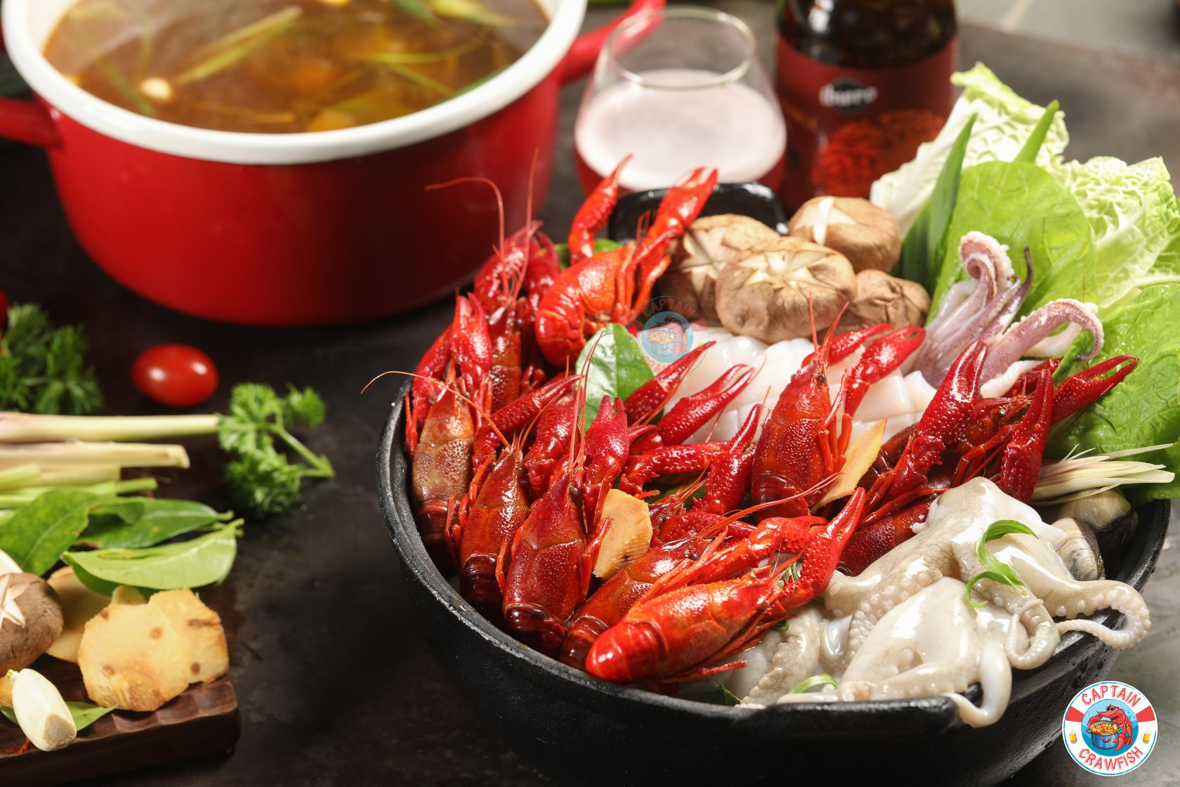 Captain Crawfish review lẩu