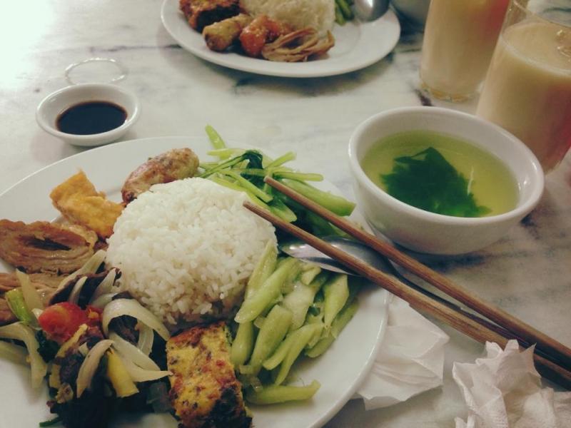Cơm chay Thanh Trai