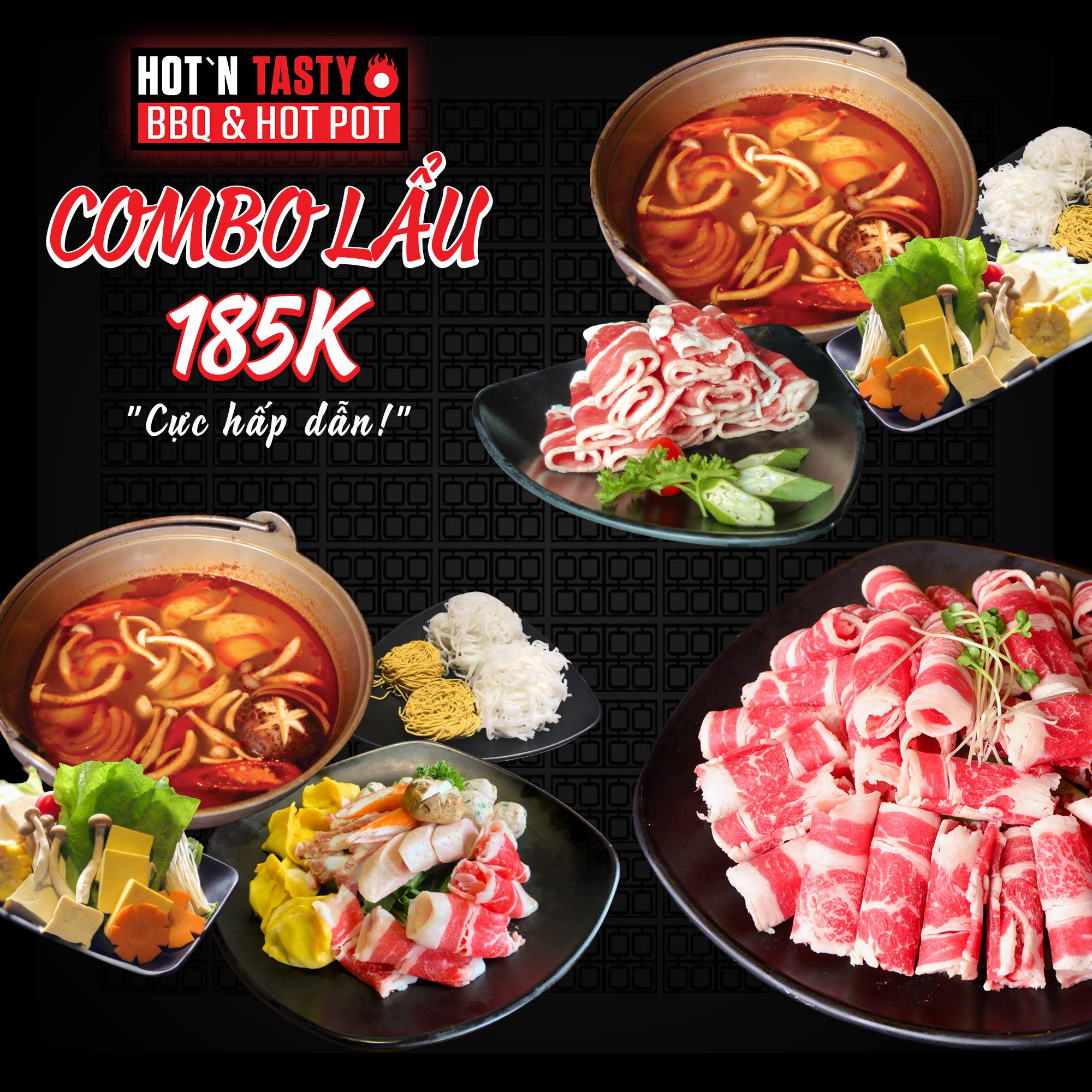 Hot N Tasty menu combo