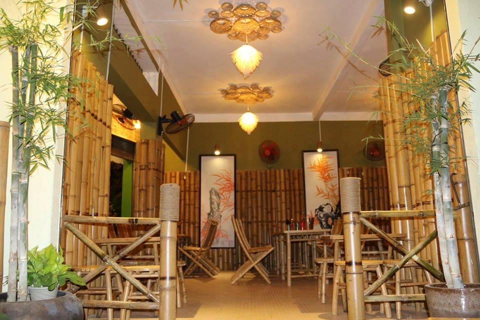 Bamboo Quán Nhậu không gian