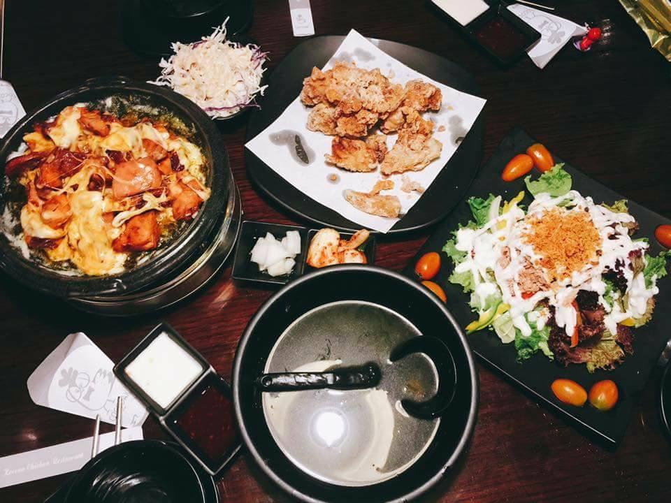 các món ăn tại Coco Dak ảnh1