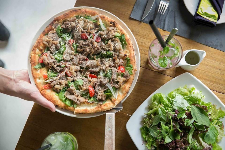 các món ăn tại quán Pizza 4P's ảnh7