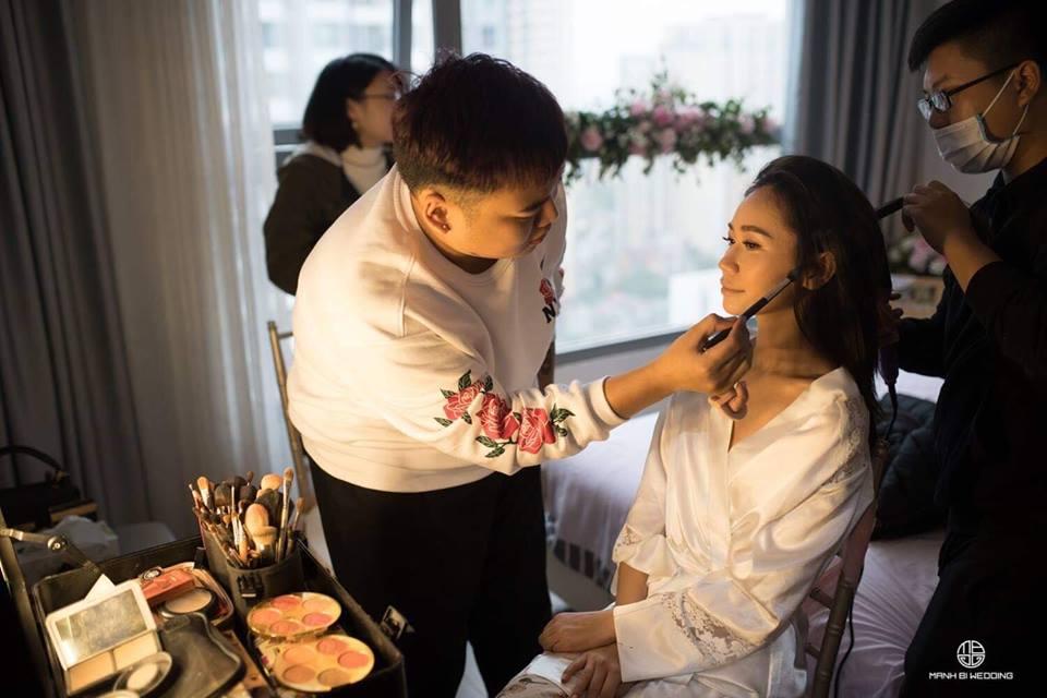 Cao Tuấn Đạt Makeup Artish trang điểm cho người nổi tiếng