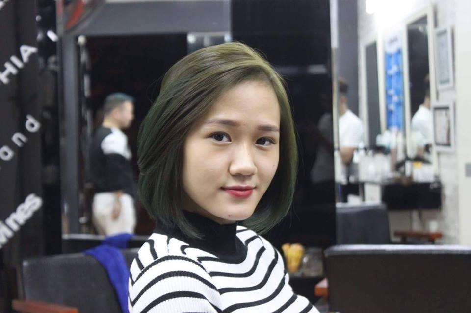 cắt ngắn tại Hair Salon