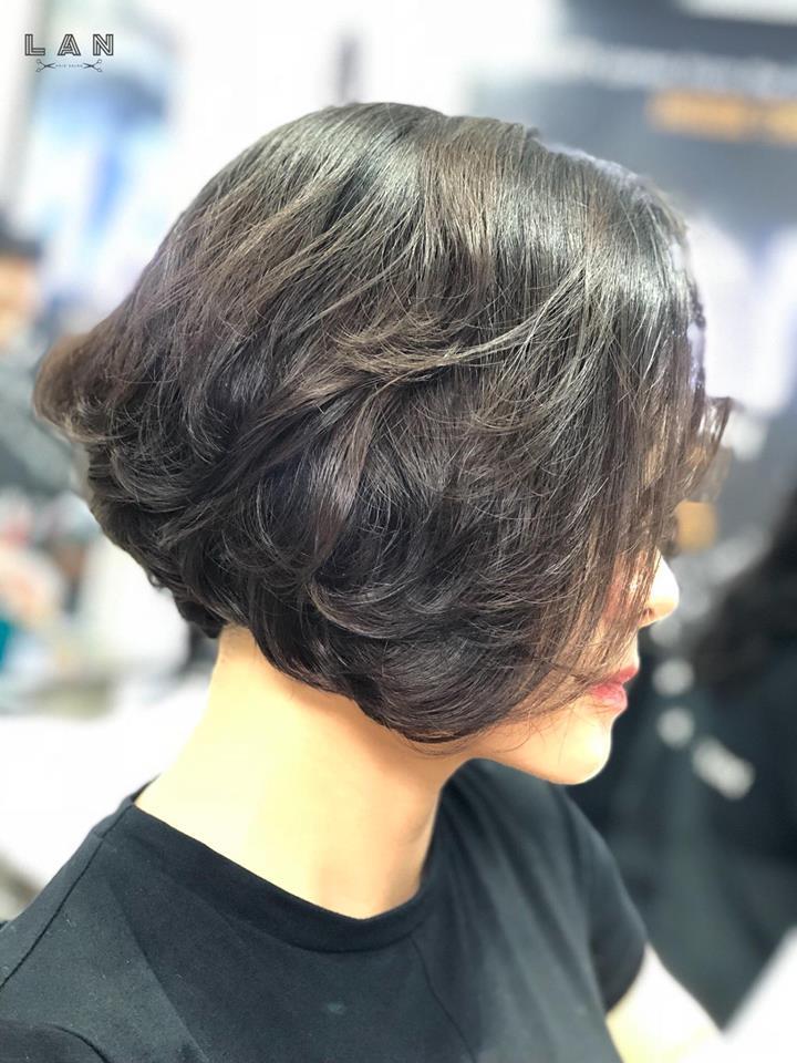 cắt tóc ngắn tại lan hair salon