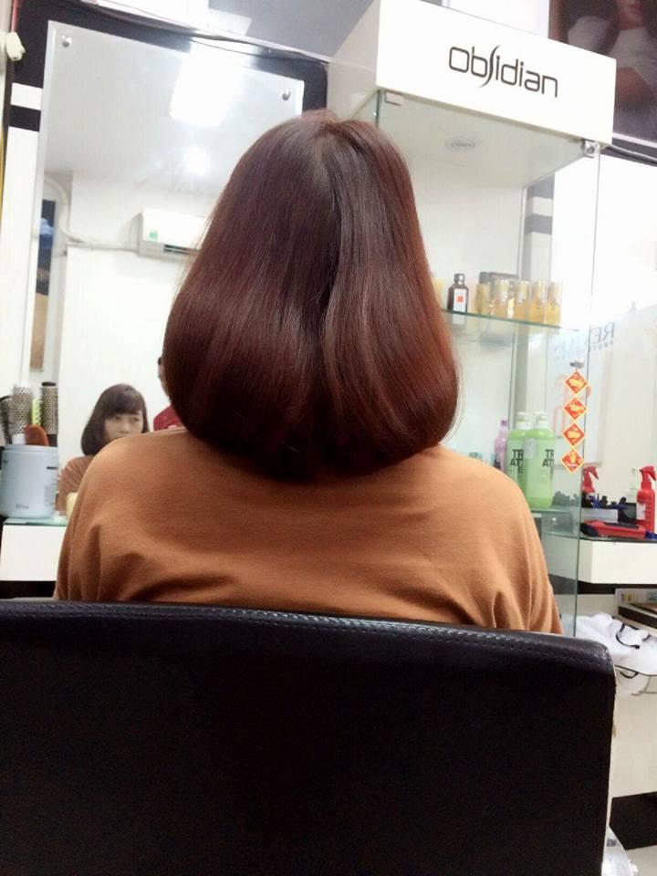 cắt tóc ngắn tại salon thanh hà