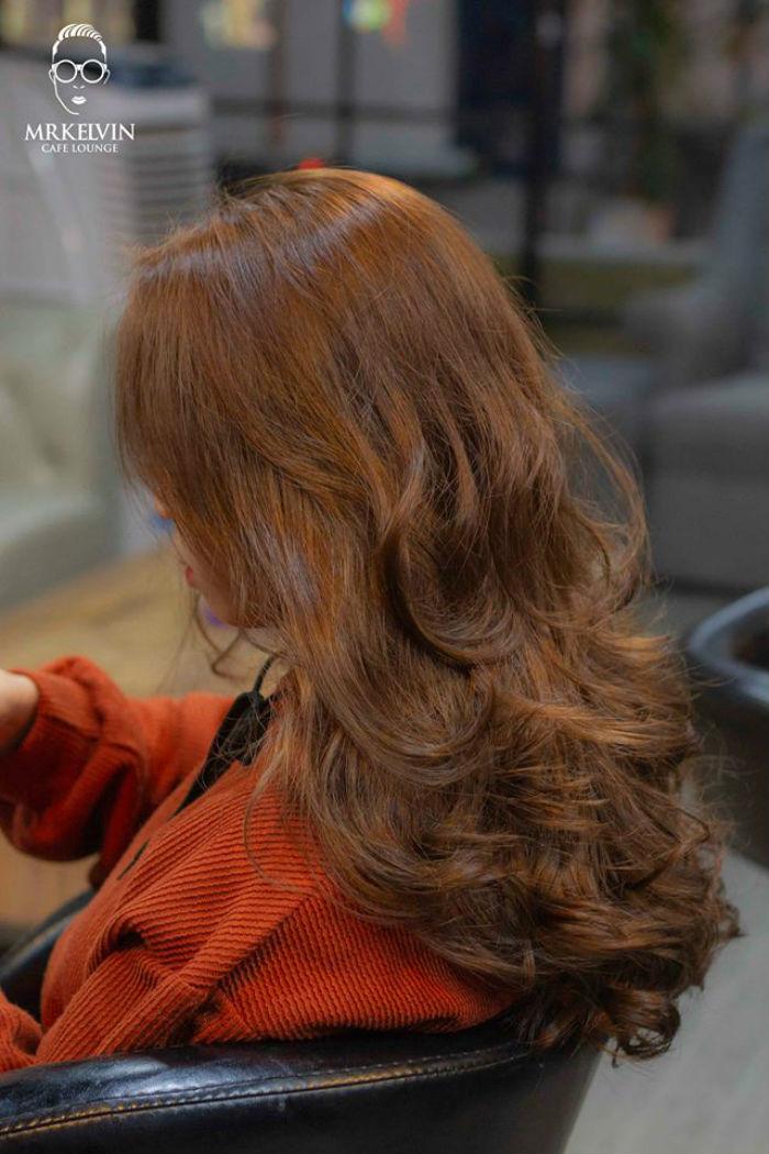 cắt tóc tại Salon MrKelvin 3