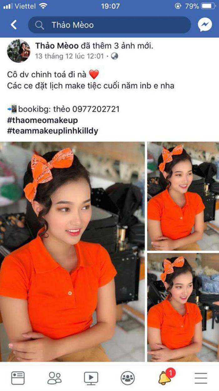 đánh giá của khách hàng trang điểm tại Linh Killdy Makeup Store 2
