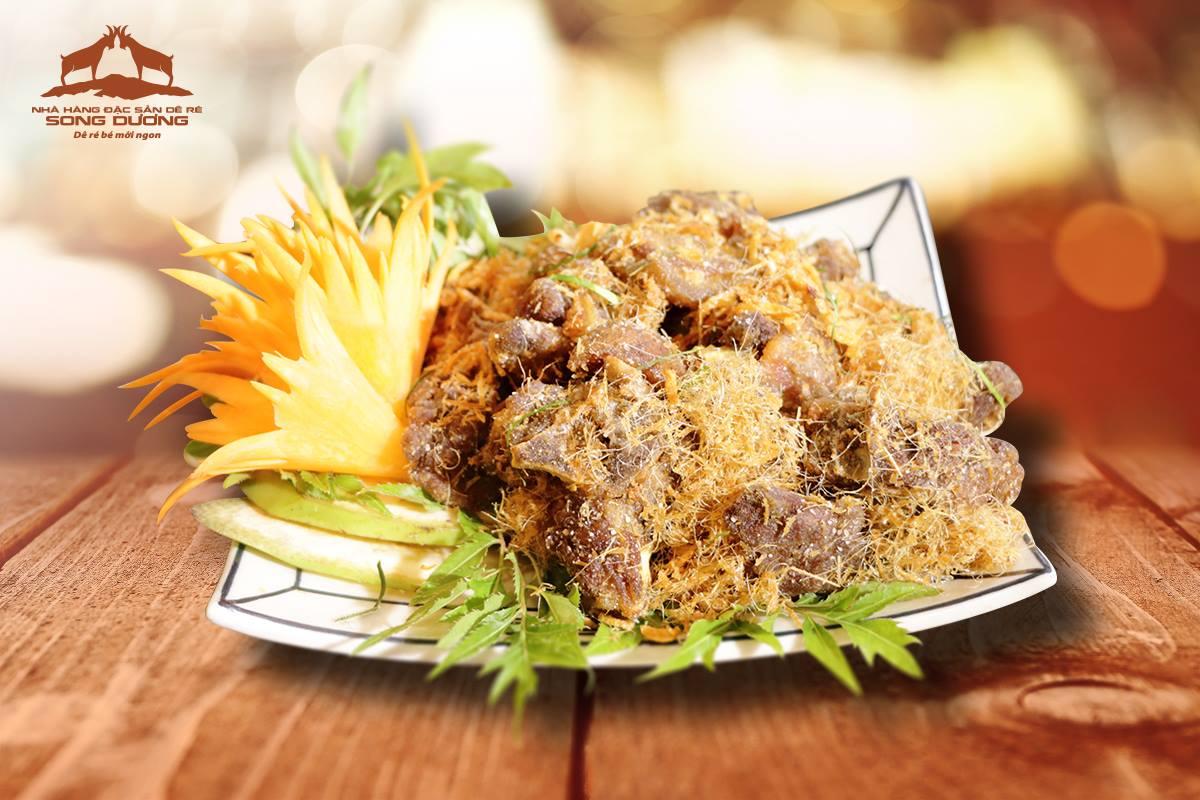 Dê Ré Song Dương menu