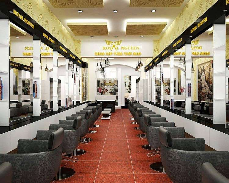 địa chỉ cắt tóc Royal Nguyễn Hairstylist cơ sở 1
