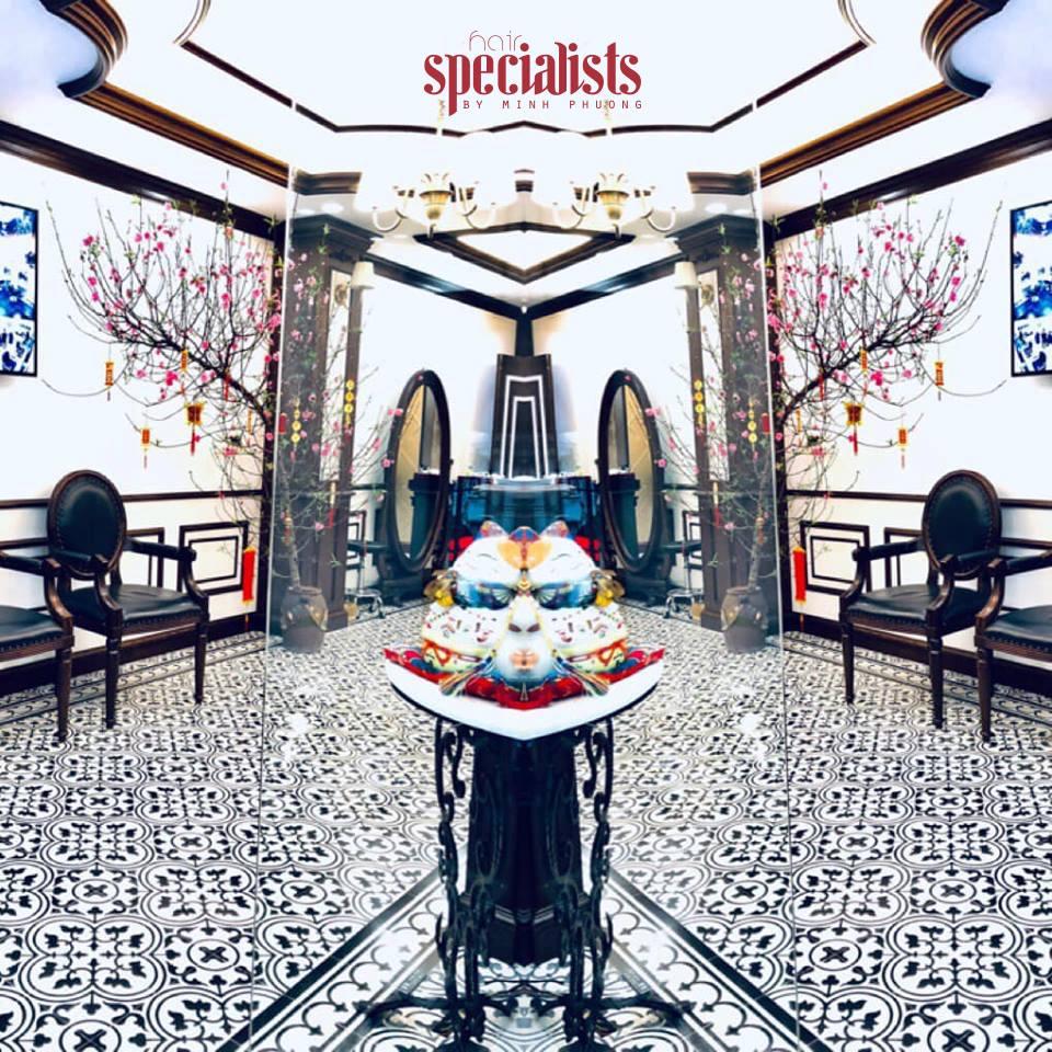 địa chỉ cắt tóc Salon Minh Phương