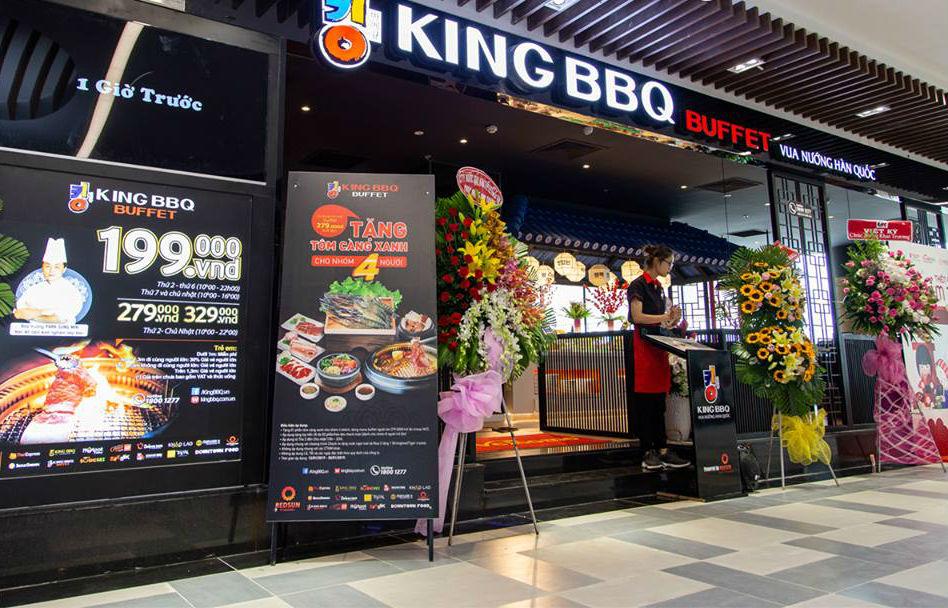địa chỉ King BBQ Buffet Gigamall
