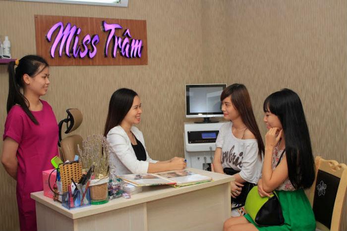 địa chỉ Miss Tram natural beauty center