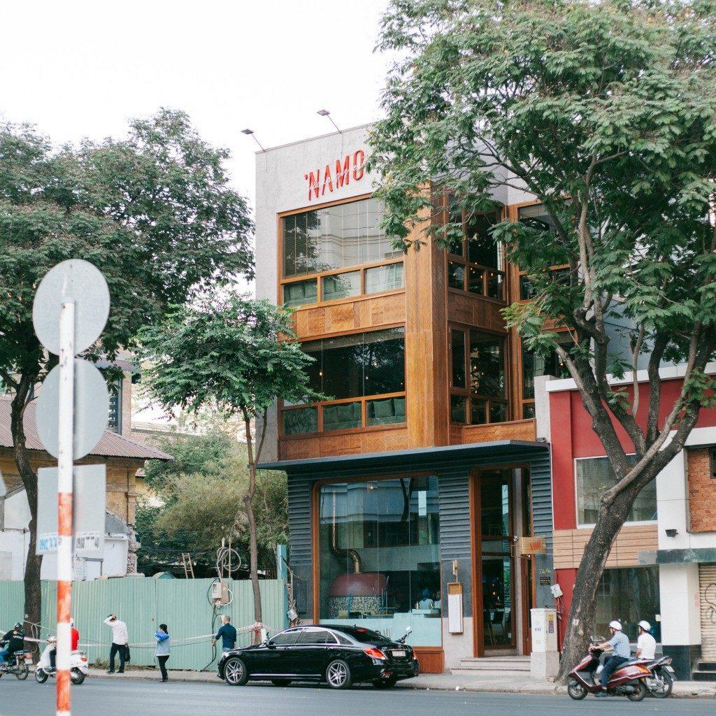 địa chỉ Namo Pizza