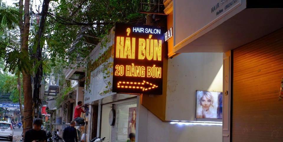 địa chỉ quán cắt tóc Hải Bún Hair Salon1