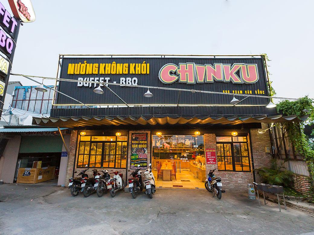 địa chỉ quán Chinku BBQ