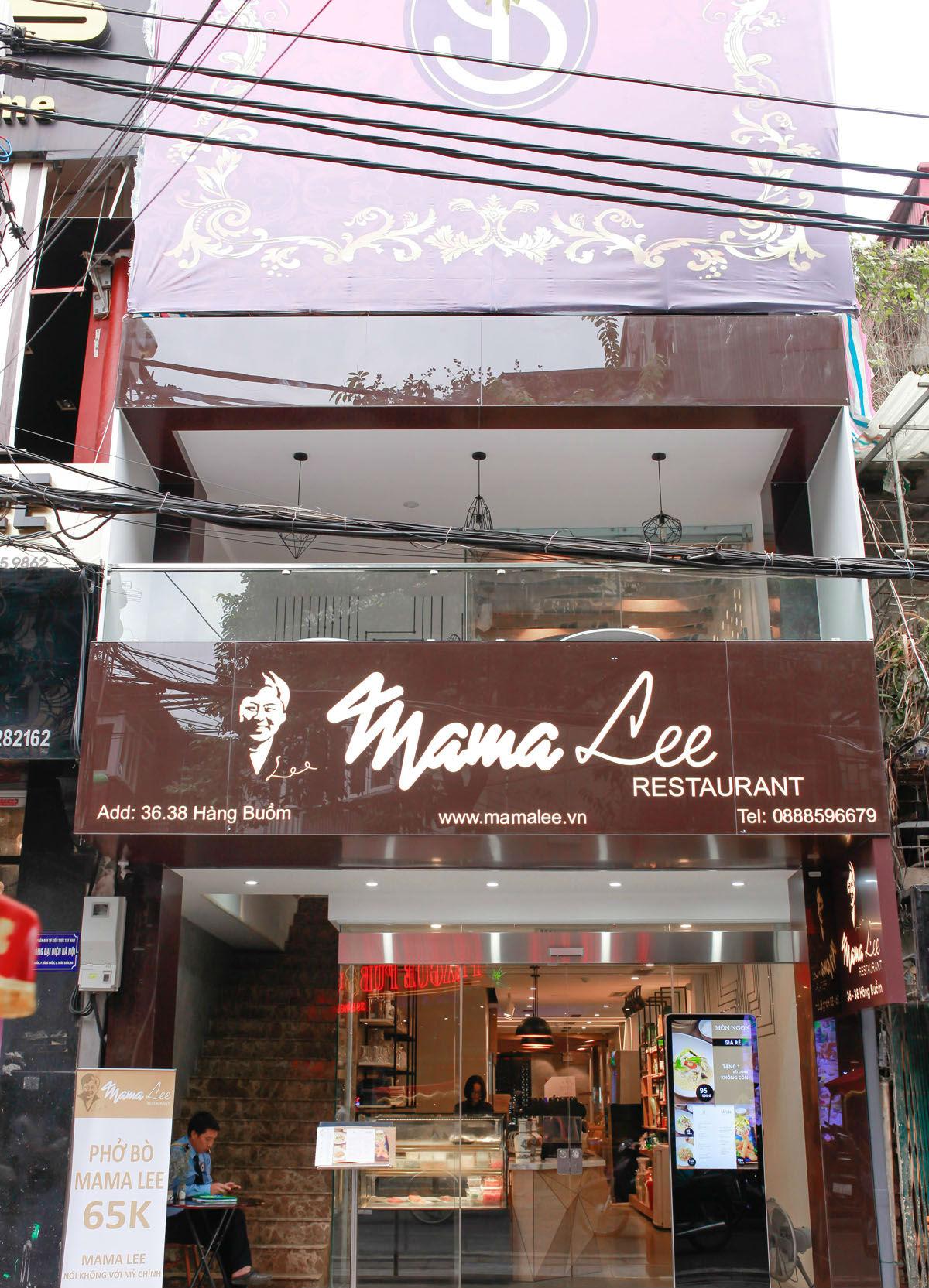 địa chỉ quán MamaLee