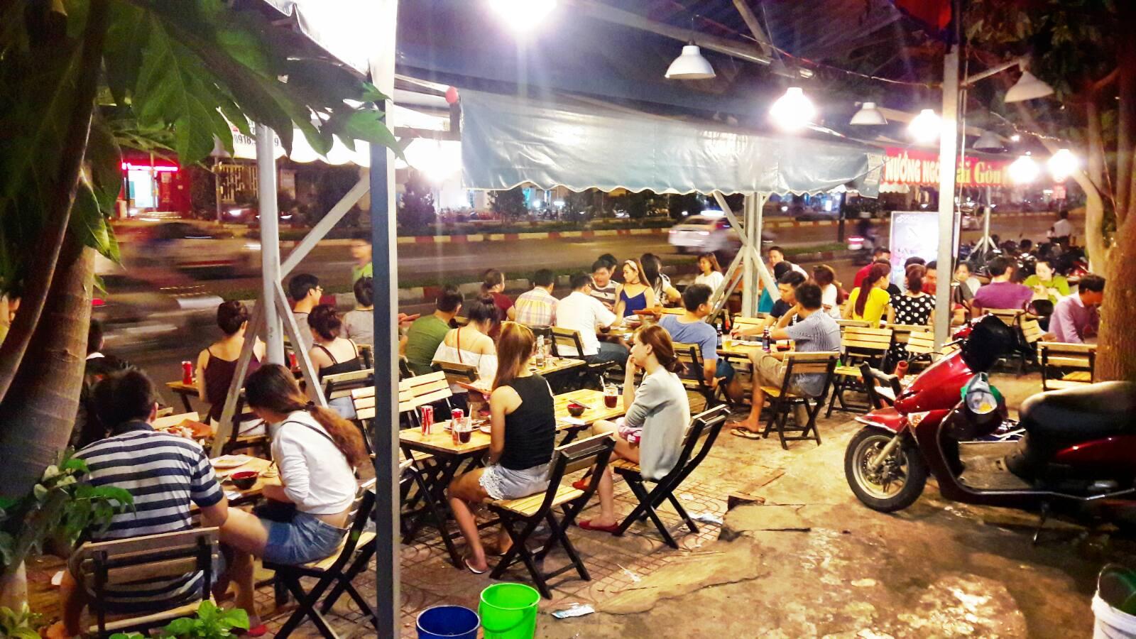 địa chỉ quán nướng ngói Sài Gòn