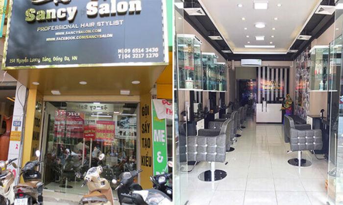 địa chỉ Sancy Hair Salon đống đa hà nội