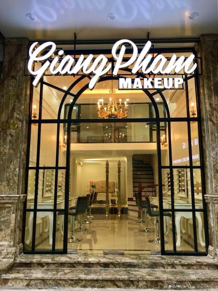 địa chỉ trang điểm Giang Phạm Makeup