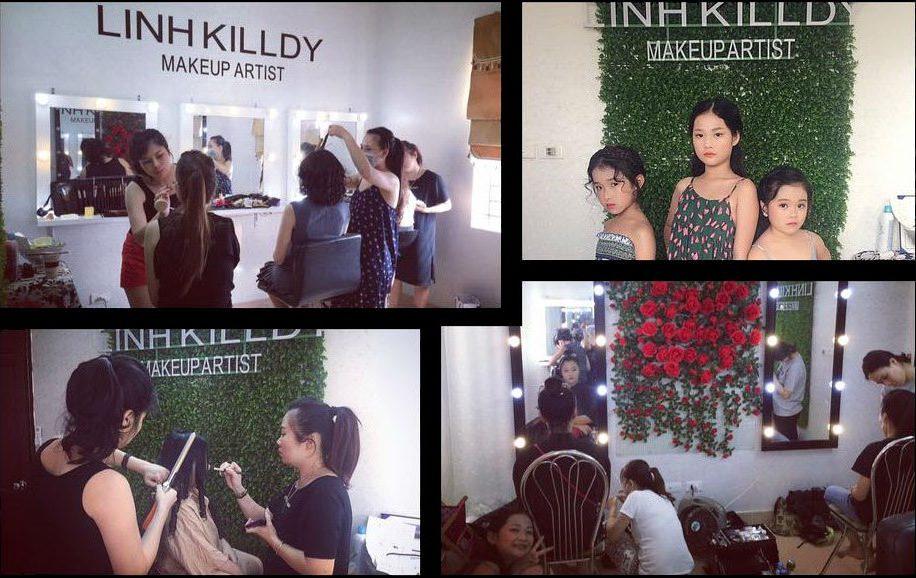 địa chỉ trang điểm Linh Killdy Makeup Store