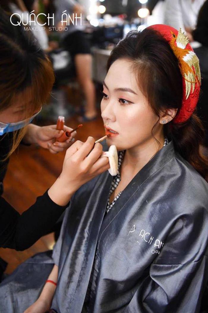 địa chỉ trang điểm Quách Ánh Makeup studio