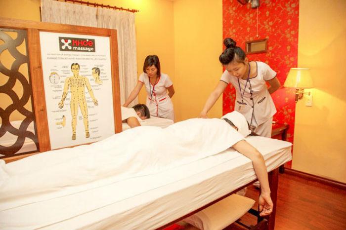 dịch vụ massage khỏe spa
