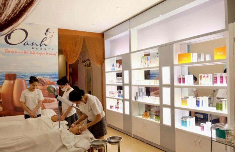 dịch vụ tại oanh beauty spa
