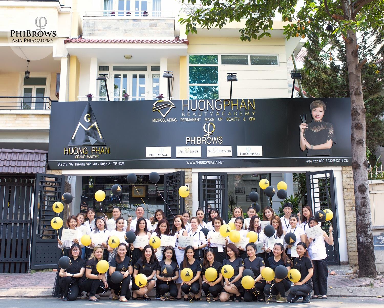 điểm khác việt của thẩm mỹ viện Huong Phan Beauty Academy