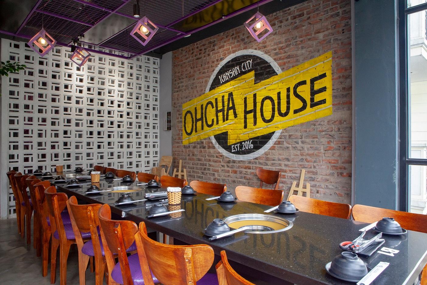 Đôi nét về nhà hàng OHCHA 2