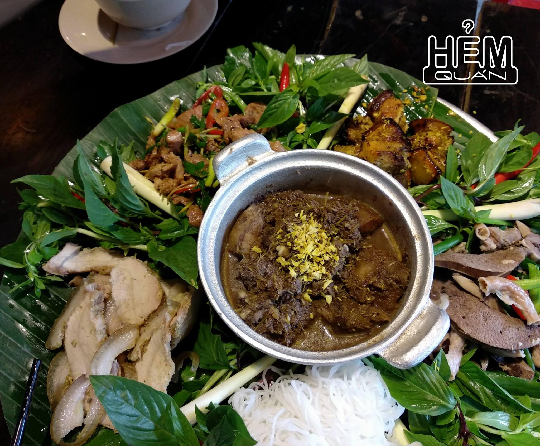 Hẻm Quán menu