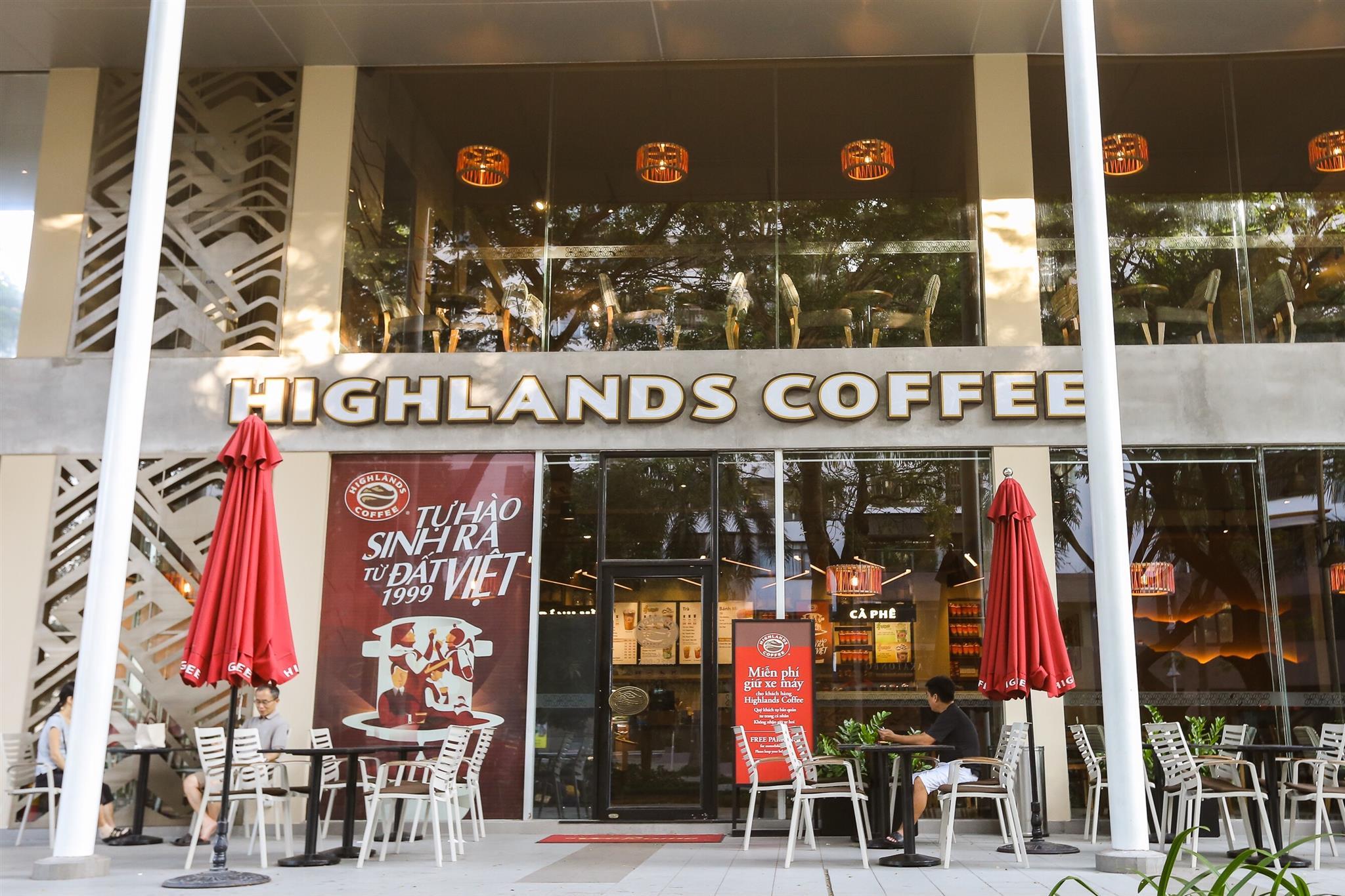 Highlands Coffee địa chỉ