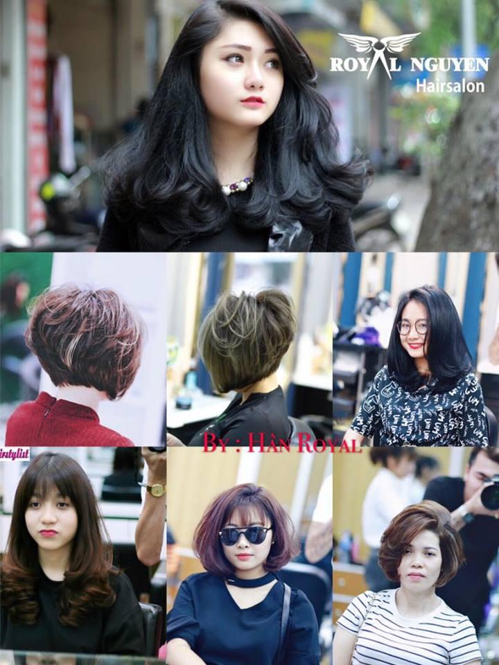 kết quả cắt tóc tại Royal Nguyễn Hairstylist