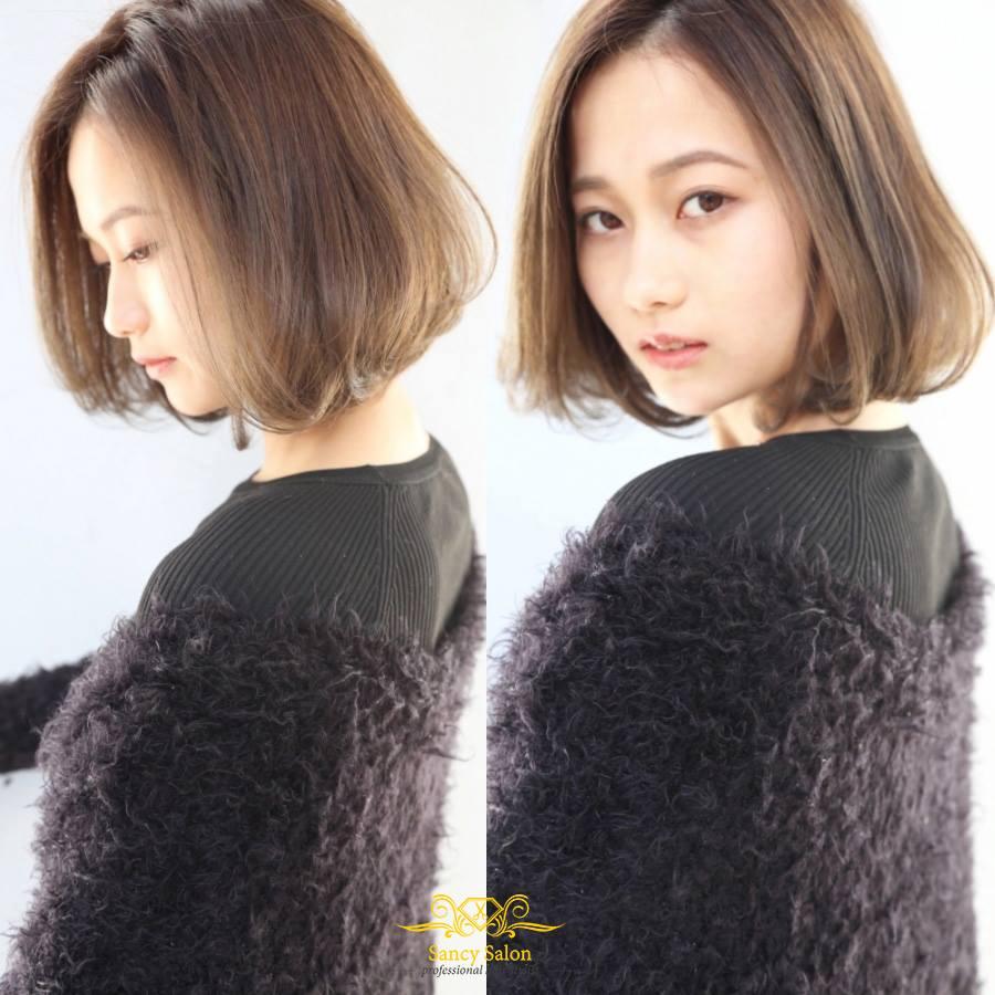 kết quả cắt tóc tại Sancy Hair Salon 2