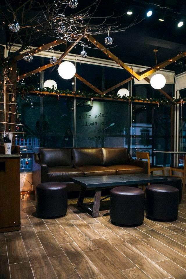 Không gian LAVA coffee