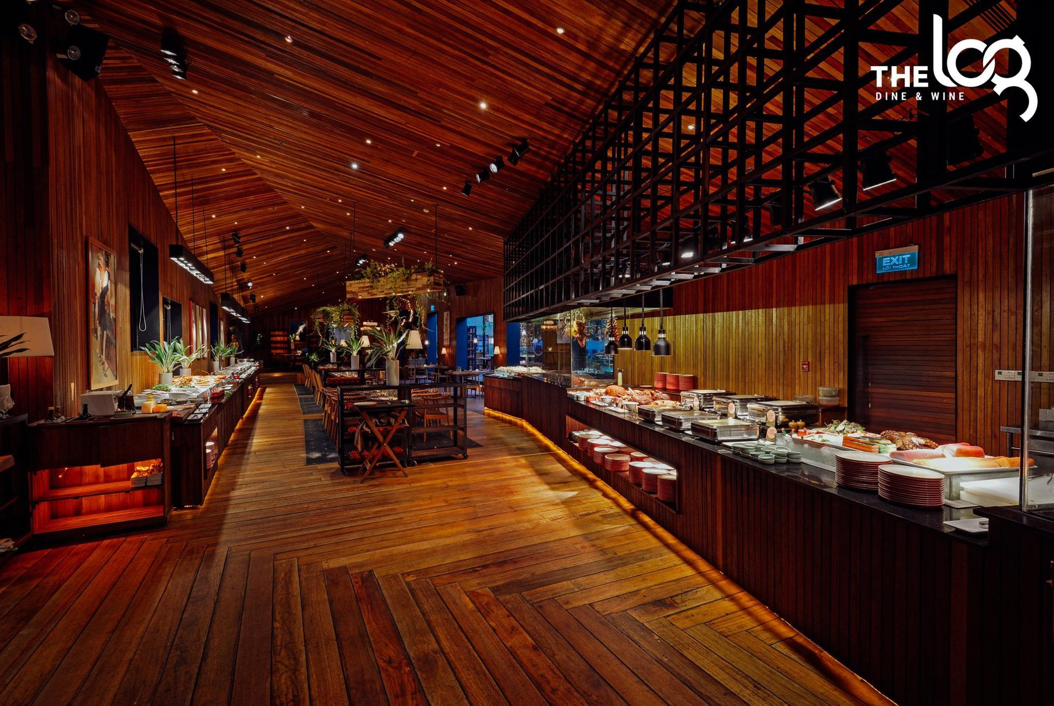 không gian The LOG Restaurant ảnh1