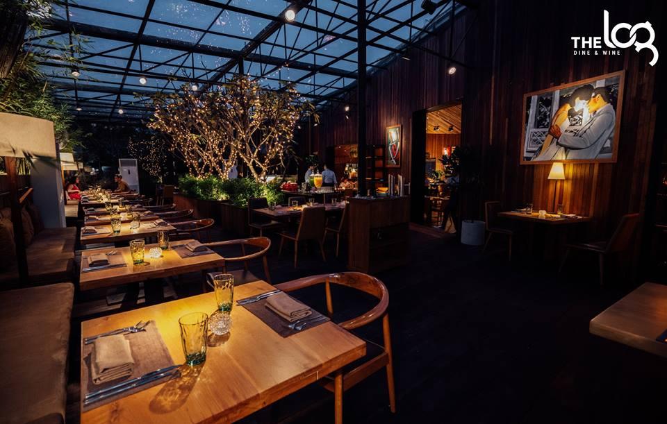 không gian The LOG Restaurant ảnh2
