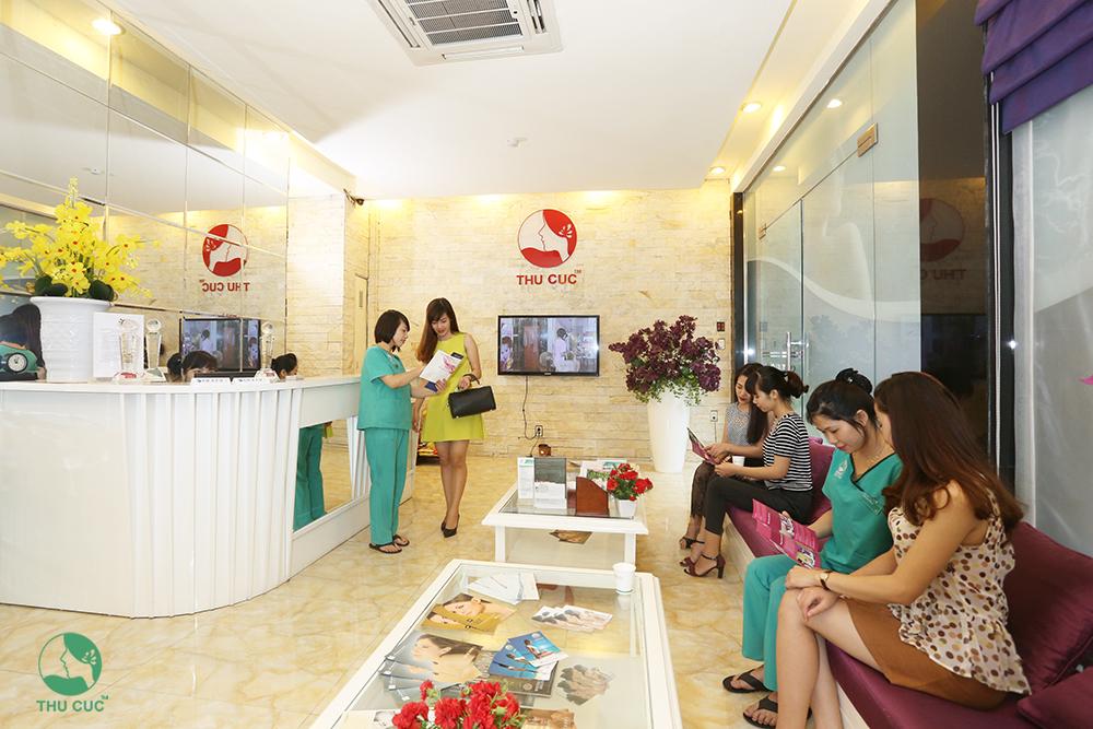 không gian thu cúc clinic
