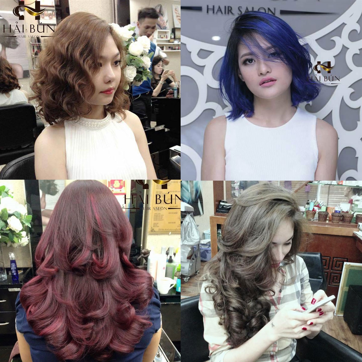làm tóc tại Hải Bún Hair Salon