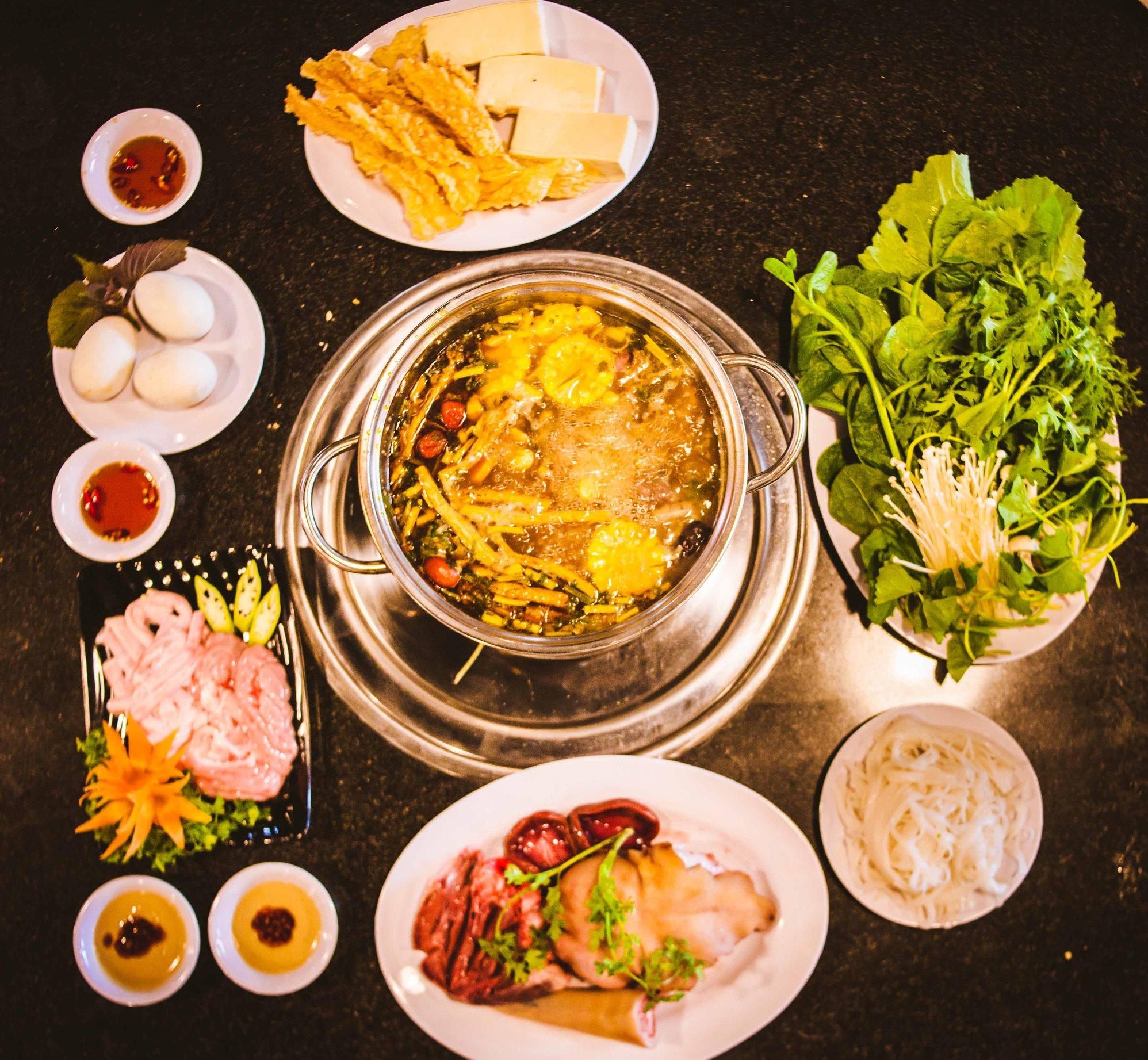 Lẩu Dê Đồng Hương món ăn