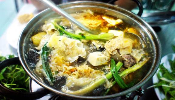 Lẩu Hà Nam món ăn