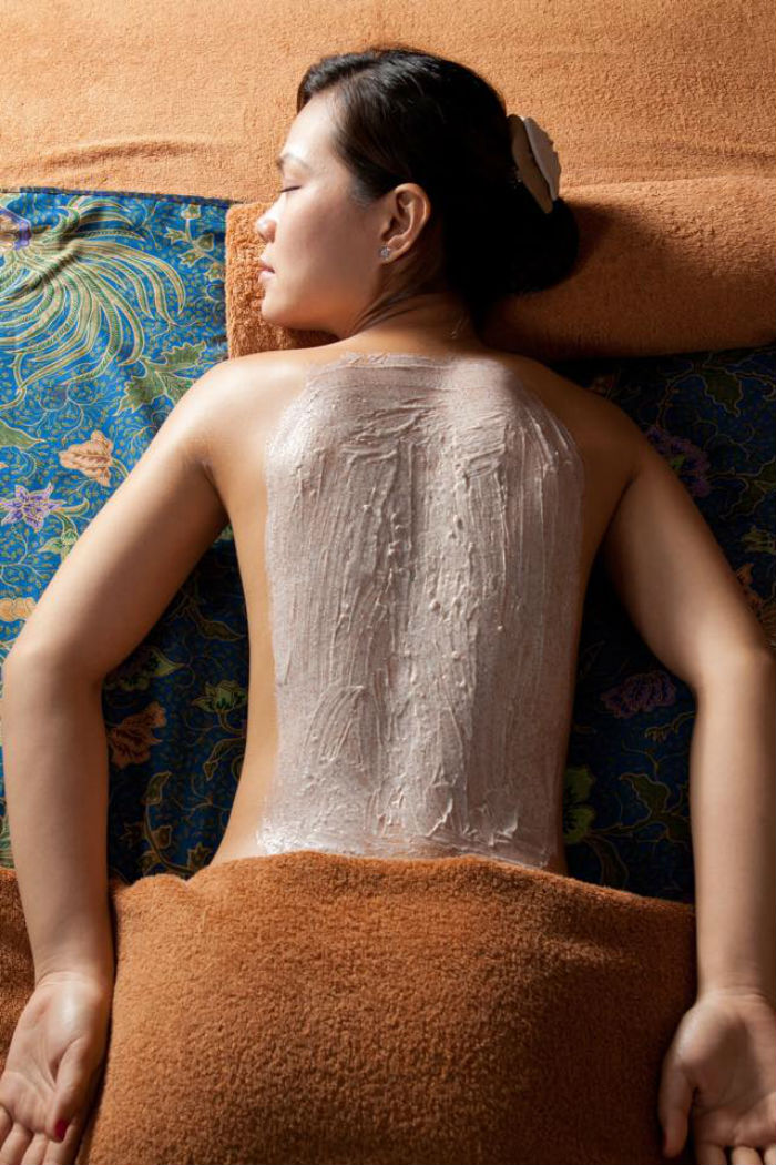 massage tại anam qt spa