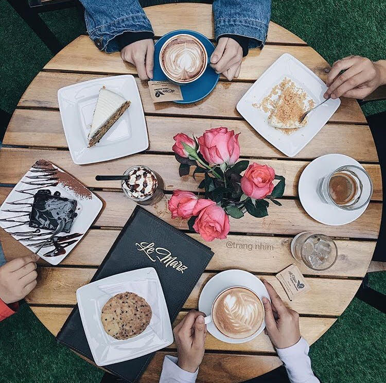 menu LeMarz Coffee Roastery