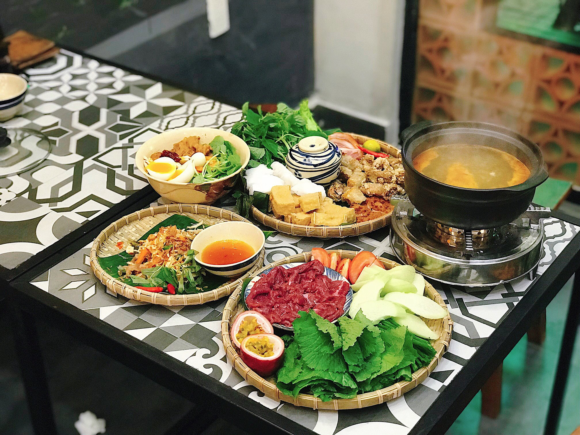 Mộc Vị Quán menu