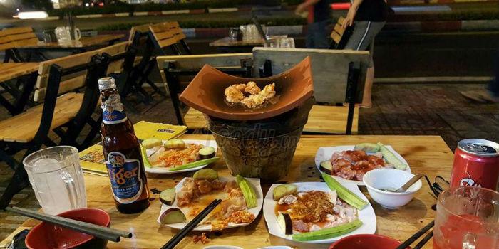 món ăn tại Nướng ngói Sài Gòn ảnh1