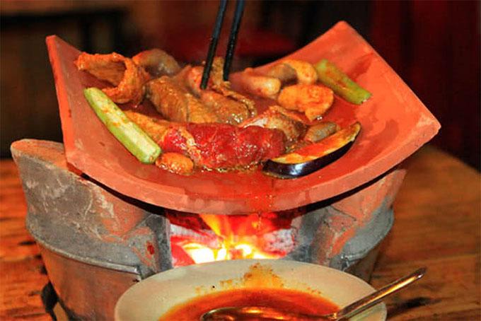 món ăn tại Nướng ngói Sài Gòn ảnh2