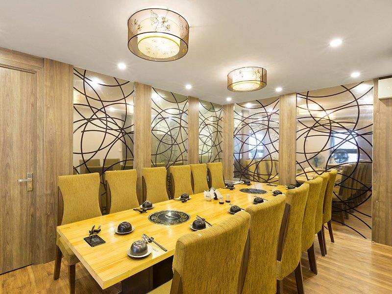 Nhà hàng Isteam phòng riêng