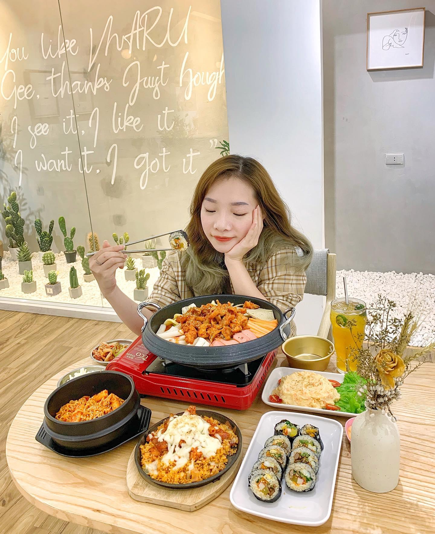 menu MARU Korean Foods