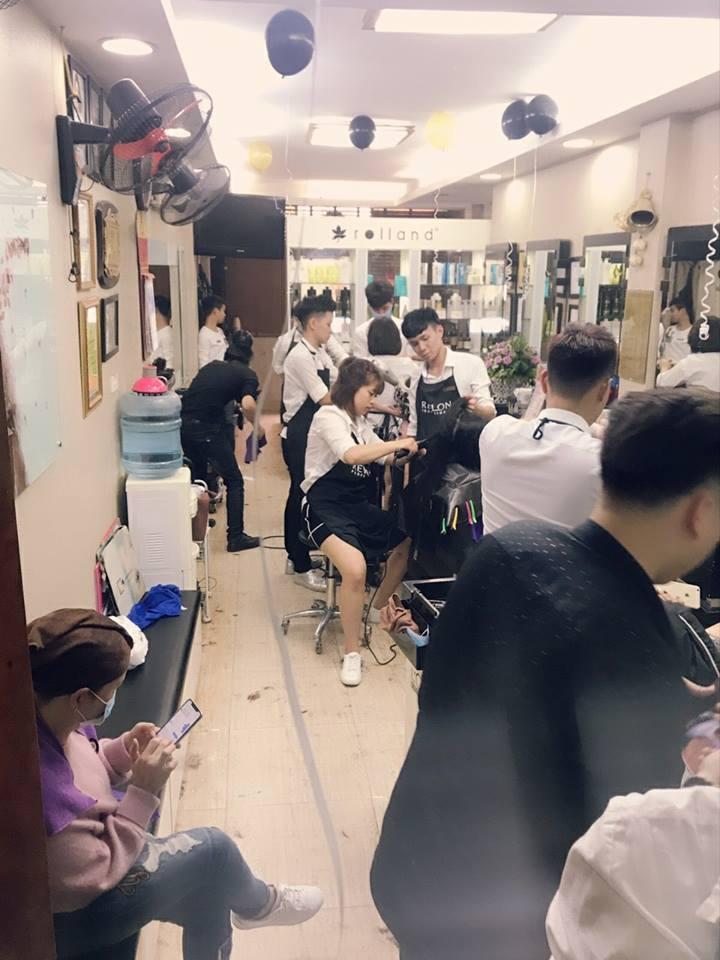 nhân viên tại Hải Bún Hair Salon 1